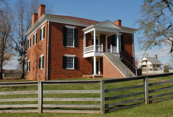 On Sunday, April 9, 1865, Generals Robert E. Lee and Ulysses S. Grant met in a second-floor parlor at the McLean House at Appomattox Court House in Virginia. During their historic meeting, Lee and Grant signed the documents that led the Army of Northern Virginia to lay down its arms and disperse. The surrender effectively ended the Civil War.