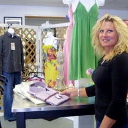 Betty McCarty, the owner of the clothing consignment shop Charlotte Lorraine's, recently moved the business from Suite 2 to Suite 1 at 15 Perkins St. in Bangor. The shop has been in operation for nearly three years.