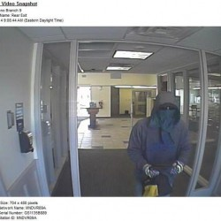 Police searching for man in Camden National Bank robbery in Corinth