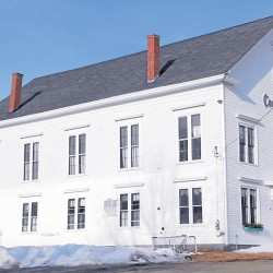 Built in 1879, Comins Hall has witnessed many events, public and private, since then. Preserved and restored by area residents, Comins Hall has been officially designated the Eddington-Clifton Civic Center.