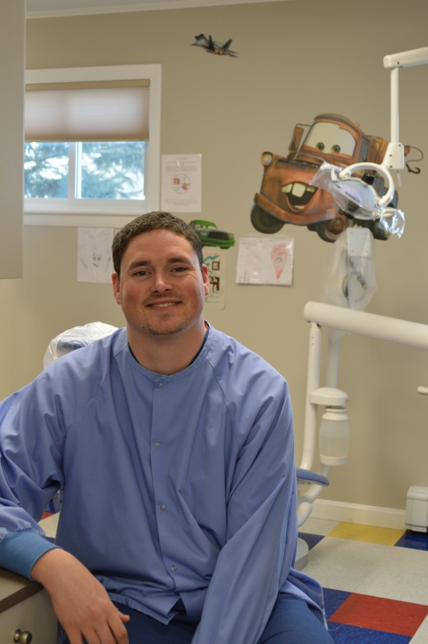 Dr. Erik Johnson, a pediatric dentist who works at the St. Apollonia Dental Clinic in Presque Isle, has joined the active medical staff at TAMC. He will utilize TAMC's operating rooms when his patients need procedures under general anesthesia and provide on-call support for the hospital's emergency department.