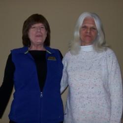 (Pictured above: Evie Palmer, DNS; Nola Kirkland, LPN)