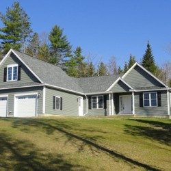 The Maine Construction Group recently constructed this executive ranch on Stetson Drive in Hampden.