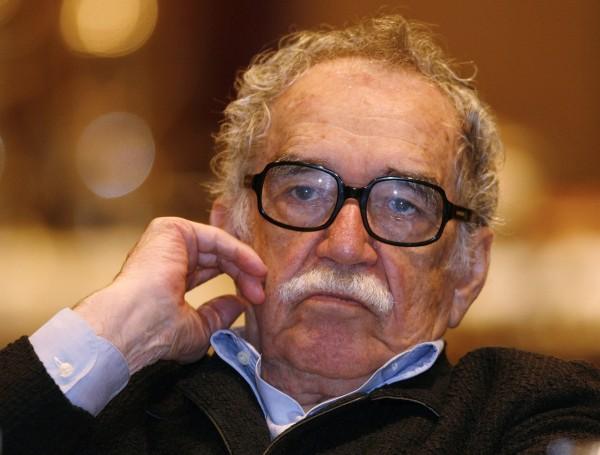 Colombian Nobel Prize laureate Gabriel Garcia Marquez listens to a speech during a journalism seminar in Monterrey on Sept. 1, 2008.