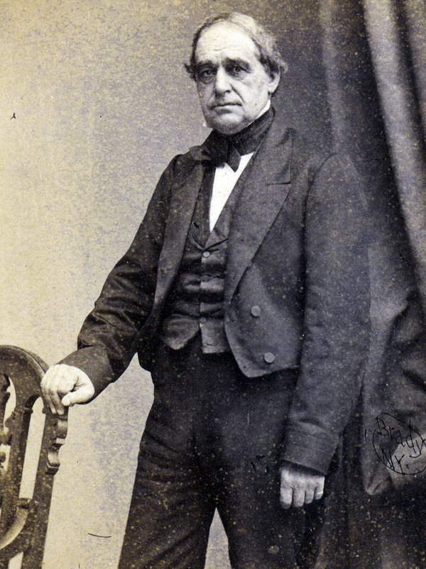 Although first in succession to President Abraham Lincoln, Vice President Hannibal Hamlin spent considerable time in Maine during the Civil War. He belonged to Co. A, Maine Coast Guards, a militia unit called up in early July 1864 to garrison Fort McClary in Kittery. A private, Hamlin pulled guard duty and served as a company cook for three months.