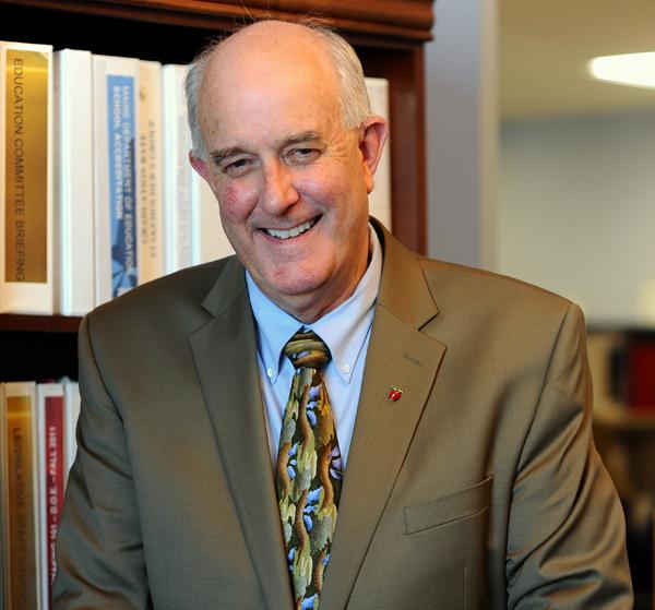 Education commissioner Jim Rier
