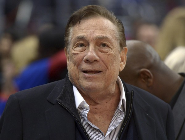Los Angeles Clippers owner Donald Sterling attends a game against the Los Angeles Lakers at Staples Center in Los Angeles, Calif., on Jan. 10, 2014.