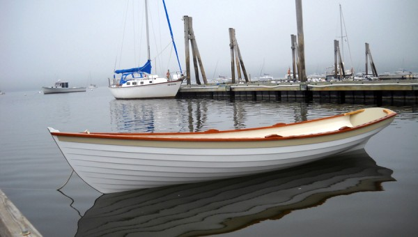Penobscot Wherry built by Cottrell Boat Building