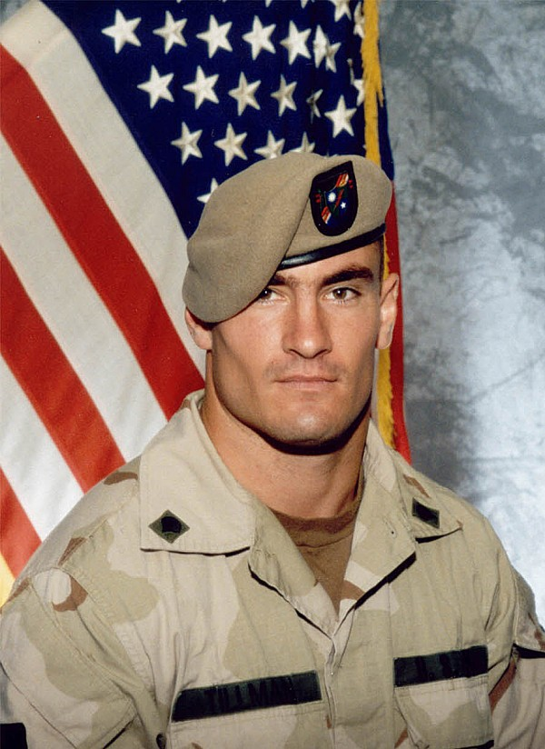 Cpl. Pat Tillman is seen in this 2003 file photo provided by Photography Plus.