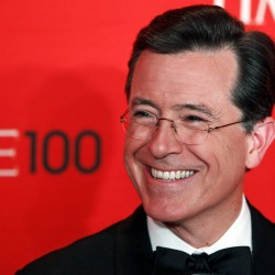 Pomp, circumstance and wisdom from Stephen Colbert