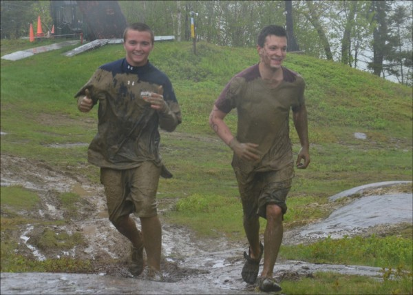 Mud and flames were just a few of the obstacles encountered by runners Don Arsenault III and P.J. Perfecto in May 2013, during the first ever Run For Your Life Challenge on Ragged Mountain. It will happen again May 24, 2014, and registration is now under way.
