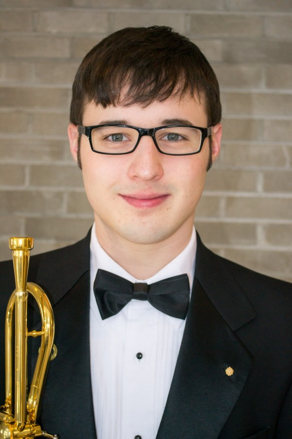 Blake Peachey of Augusta, Maine, is the winner of the 2014 UMaine Student Concerto Competition.