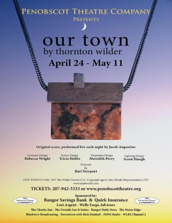 Penobscot Theatre Company is rehearsing &quotOur Town.&quot