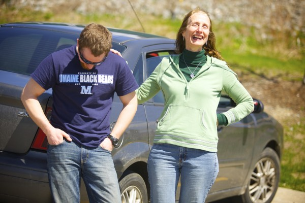 Rita and her son Josiah Corbin both are graduating from college this weekend. For the last four years of classes, as a biology student at the University of Maine in Orono, Josiah has slept in his car. Corbin's parking lot of choice has been the Bangor Walmart lot and it saved him tens of thousands of dollars in UMaine resident fees.
