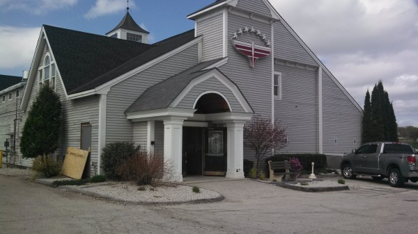 The site of the former Schooners Seafood and Steakhouse, which will become the new restaurant High Tide, in Brewer on Saturday. Thomas Shanos, owner of Kosta's Restaurant & Bar in Brewer, is preparing for an opening in late June.