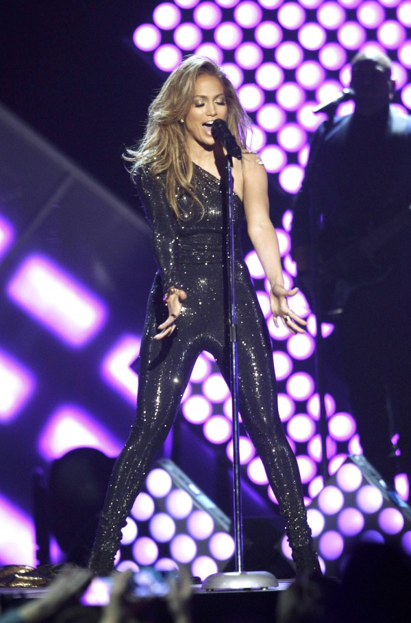 Singer Jennifer Lopez performs &quotFirst Love&quot onstage at the 2014 Billboard Music Awards in Las Vegas, Nevada May 18, 2014.