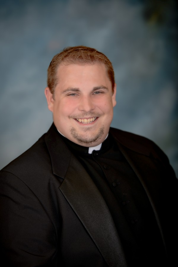 Deacon Brad Morin will be ordained into the Catholic Church on June 6, 2014, in Portland.