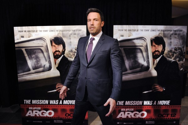 In this October 2012 file photo, actor Ben Affleck attends the premiere of &quotArgo&quot at the Regal Gallery Place Theaters in Washington, D.C.