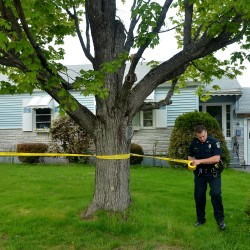 Police don't suspect foul play in death of man found in Bingham driveway