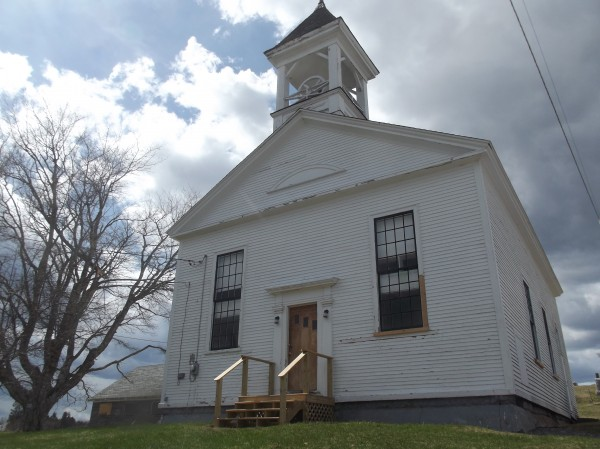 The Union Meeting House, also known as the Whiting Village Church, has been named to the National Register of Historic Places.
