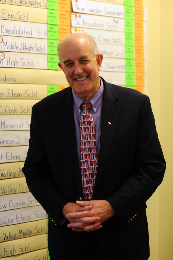 Jim Rier is Maine's commissioner of education.