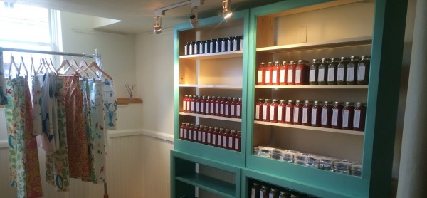 Abby Freethy has just opened Northwoods Gourmet Girl's first bricks-and-mortar store in downtown Belfast. The Greenville-based company will sell specialty foods and other items at the new location.