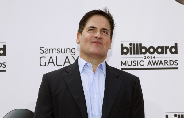 Businessman Mark Cuban arrives at the 2014 Billboard Music Awards in Las Vegas, Nevada May 18, 2014.
