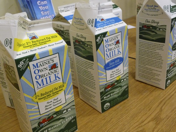 A variety of MOO Milk products are on display in this December 2010 file photo.