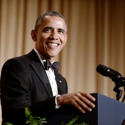 Obama wasn't joking at the White House correspondents' dinner