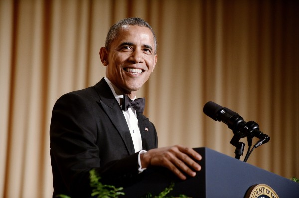 On Saturday, President Barack Obama attends the annual White House Correspondent's Association dinner at the Washington Hilton hotel in Washington.