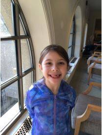 Ingrid Schaefer of Bangor turns 8 on Monday. She is asking for people to donate to the Bangor Public Library, so she can have her name etched on the wall and to support the library.