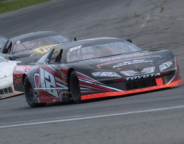 Paul White of Corinna competes in Late Model action at Speedway 95 in Hermon, Maine, Saturday, May 24, 2014.