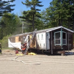 Greenbush house damaged by fire