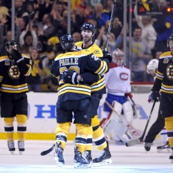 Bruins even series with Canadiens with overtime victory