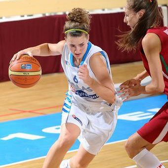 Christiana Gerostergiou has committed to play basketball at the University of Maine starting in the fall of 2014.