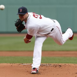 Boston's Lester stifles Rays in opener