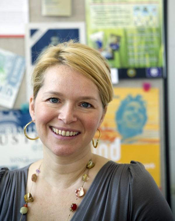 University of Maine sociologist Amy Blackstone