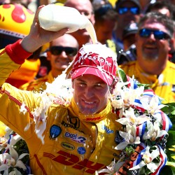 Carpenter makes it an American sweep for IndyCar