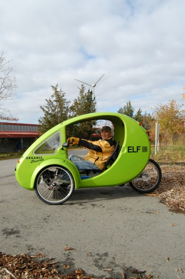 The ELF, a pedal and solar-powered tricycle designed by a North Carolina inventor with Maine ties, has attracted interest from people with disabilities -- including several people who are legally blind but want to be able to get around. One of those people is Mert Danna, a young man from Waldo County who is trying to get the funds together to purchase the vehicle he says will provide him with independence.