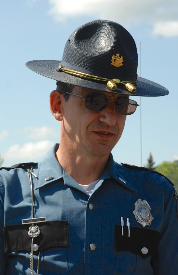 Lt. John Cote of the Maine State Police Houlton Barracks.
