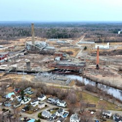 $140 million Millinocket pellet mill project seeking air emissions permit from state