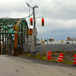 Fort Kent bridge closed to big trucks, construction delayed indefinitely