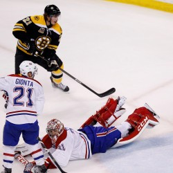 Horton hears a Woo! Bruins win Game 7 vs. Habs 4-3