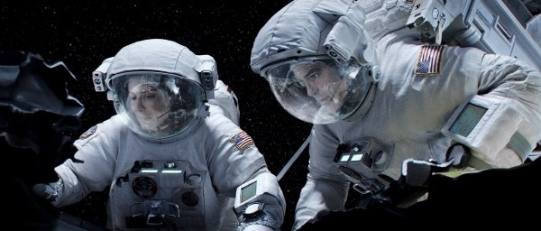 Sandra Bullock and George Clooney star in &quotGravity.&quot