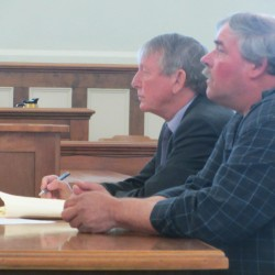 Lobsterman testifies he pointed gun in self defense, denies firing shots