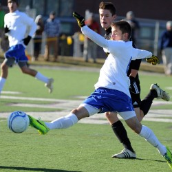 Goals remain for Madawaska's Lee after setting state high school soccer scoring mark