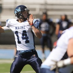 UMaine alumni, fans celebrate football, friendships at Gillette Stadium