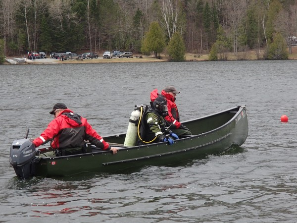 On Sunday, warden divers recovered the body of Jacob Caldwell, 19, after a canoe he was in with two other men capsized on Echo Lake early that morning.