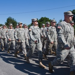 LePage says Maine's 133rd Engineer Battalion isn't going anywhere