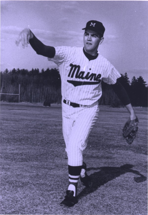 Joe Ferris was the ace pitcher on the 1964 University of Maine baseball team that finished third at the College World Series in Omaha, Nebraska